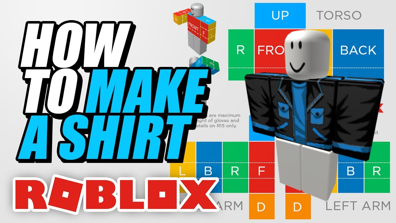 How To Make A Shirt In Roblox 2020 Youtube