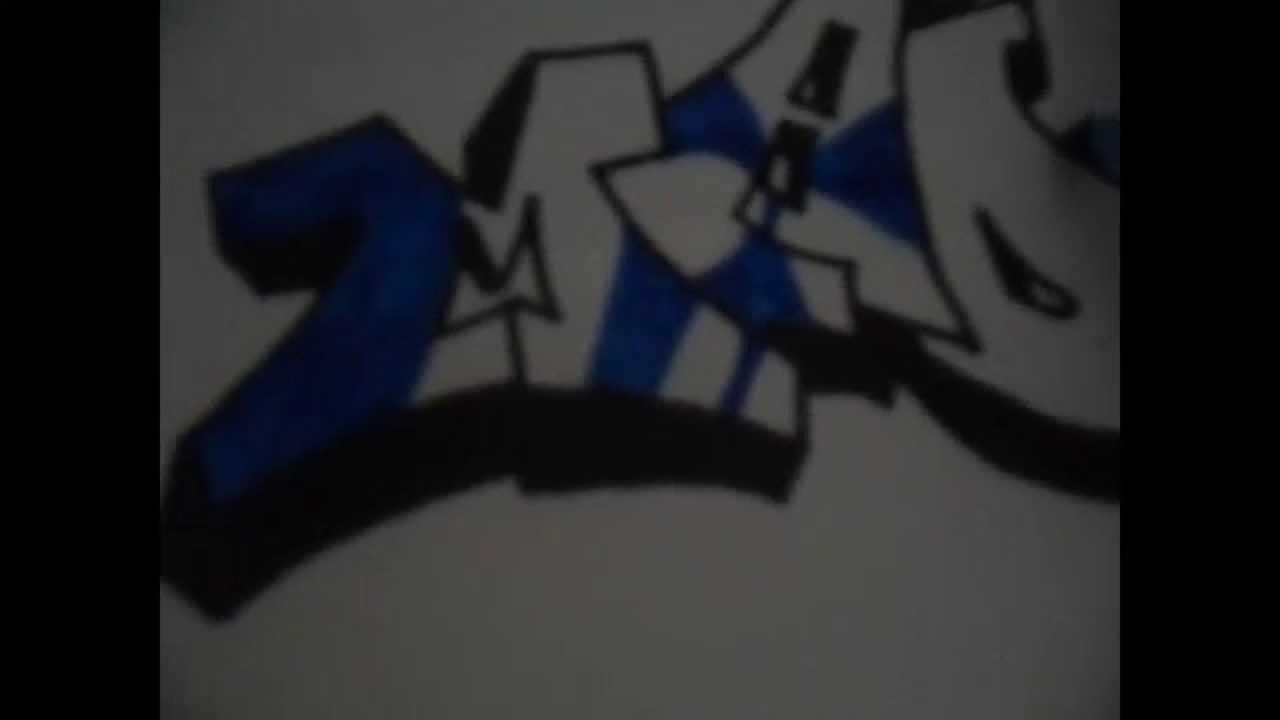 Graffiti en papel tributo a la virgen de f tima youtube - Graffitis en papel ...