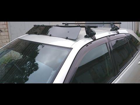 Аэродинамическая панель своими руками. Как убрать шум багажника на крыше автомобиля. Часть 1.