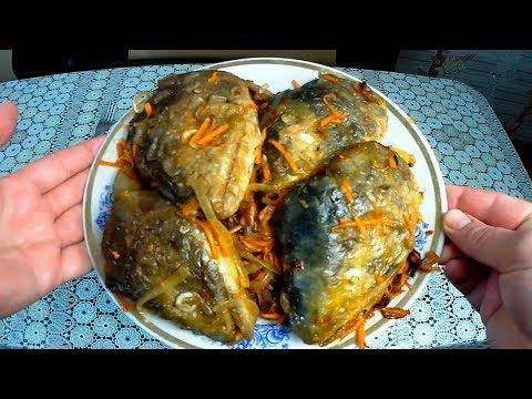 Жаренные головы лосося, Что приготовить из рыбных голов