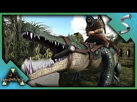 TAMING KAPROS ON FOOT! SWAMP EXPLORATION FOR A MALE KAPRO! - Ark: RAGNAROK [DLC Gameplay S3E69]
