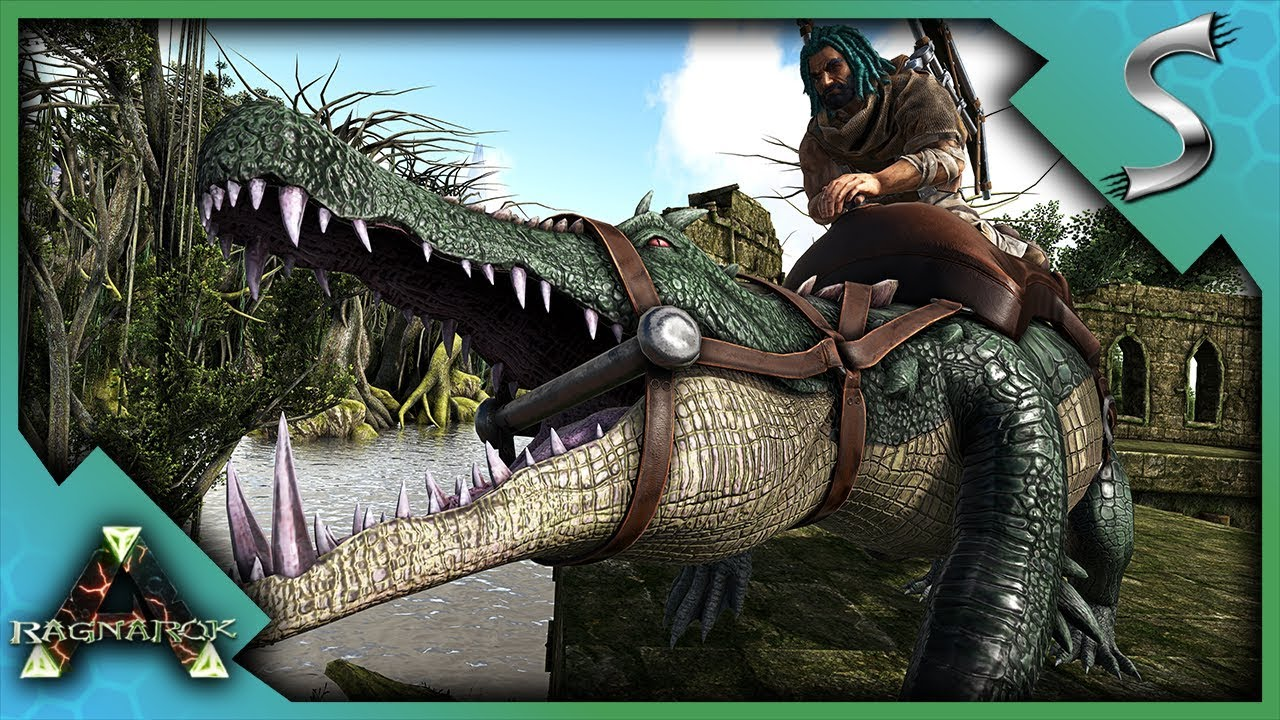 TAMING KAPROS ON FOOT! SWAMP EXPLORATION FOR A MALE KAPRO