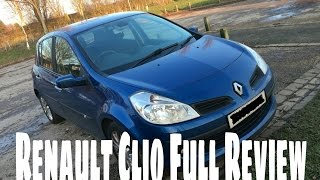 Full Renault Clio 2007 Review | Great First Car?