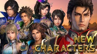 DYNASTY WARRIORS 9 All New Characters (Xu Sheng and 6 Returning Officers) Compared to DW 8