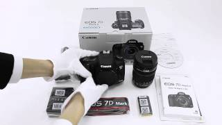 Canon EOS 7D MarkII EF-S18-135 IS STM Kit 開封の儀