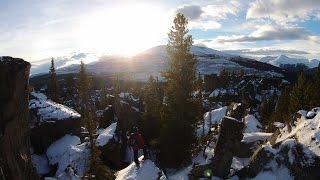 Boulder Gardens - Tumbler Ridge, BC - DJI Phantom 2 Vision Plus