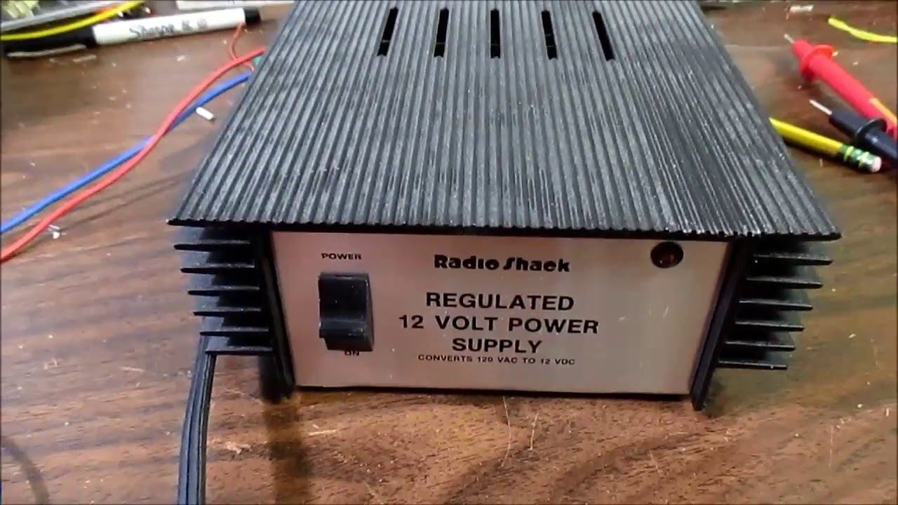 Radio Shack Regulated 12 Volt Power Supply Teardown Review Youtube 15 1 Amp