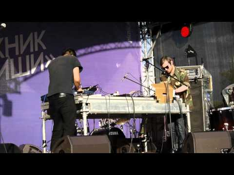 Fuck Buttons - Phantom Limb (live at Picnic Afisha, Moscow)