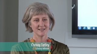 What do people most enjoy about working at the Library?