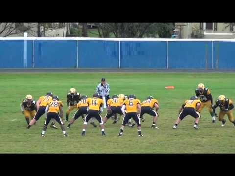 Alan McCaulley RCTC Left Tackle First 5 Games Highlights