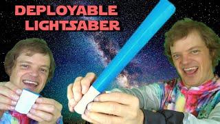 Deployable Lightsaber 🎇 Sword, Switchblade or Jack Knife 🎇 Pure Origami Magic Trick