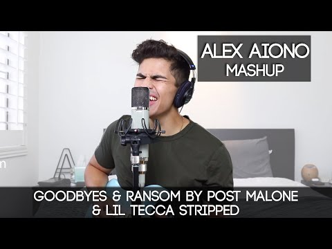 Goodbyes & Ransom by Post Malone & Lil Tecca STRIPPED | Alex Aiono Mashup