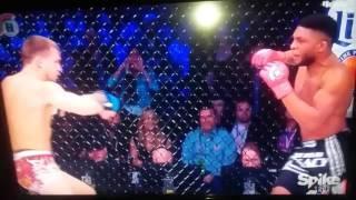 "Paul ""Semtex Daley Flying Knee Knockout of Brennan Ward - Bellator 170"