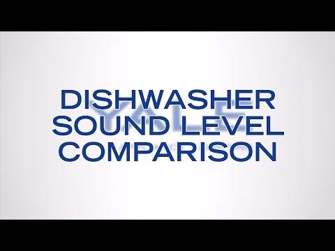 Dishwasher Sound Level Comparison [ Headphones Recommended ]