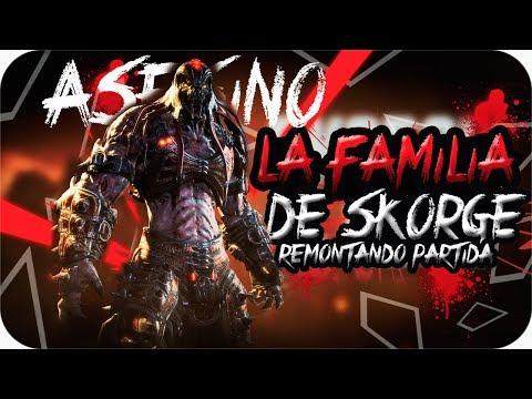 ¡¡LA FAMILIA DE SKORGE!! INTENTANDO REMONTAR PARTIDA | GEARS OF WAR 4 [Gonner]