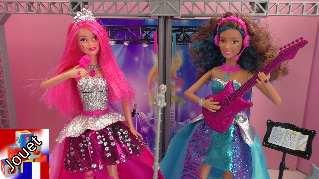 Princesse Barbie Au Rockstar Camp De Showdance dQtxBCoshr