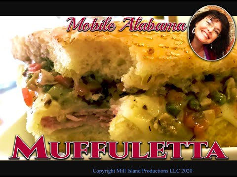 Delicious Mobile Alabama Muffuletta's