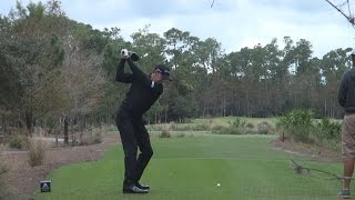 JIMMY WALKER - DRIVER SWING REGULAR & SLOW MOTION TIBURON GOLF COURSE 2014 TEMPLETON 1080p HD