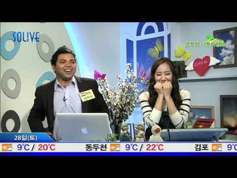 Sanjay Kumar from India  in  SOLiVE KOREA 2012-04-27