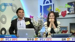 Sanjay Kumar from India  in  SOLiVE KOREA 2012-04-27