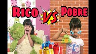 RICO VS POBRE  | Expectativa VS Realidade no DIA DAS CRIANÇAS