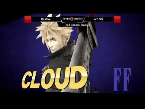 Hidden Bosses 4.0 Second Chance Bracket: Restive (Cloud) vs Lord SD (Lucina)