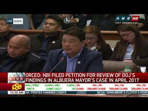 Ping questions DOJ usec's power to downgrade raps vs Supt. Marcos