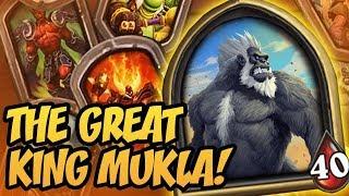 The Great King Mukla!   Saviors of Uldum   Hearthstone