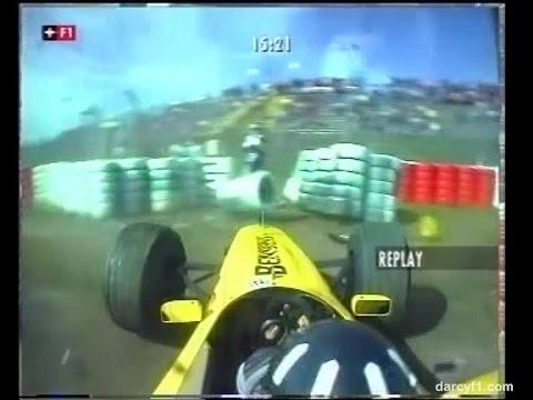 F1 Nurburgring 1999 - Damon Hill Crash