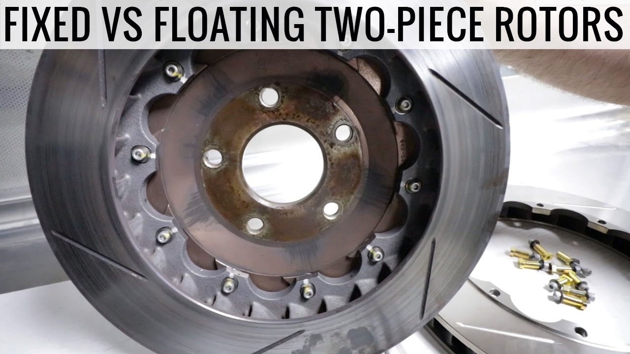 2 piece rotors floating vs fixed which one is best for you youtube. Black Bedroom Furniture Sets. Home Design Ideas