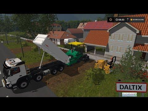 Farming Simulator 17 | Map Daltix V2 Travaux Publics | Épisode 1