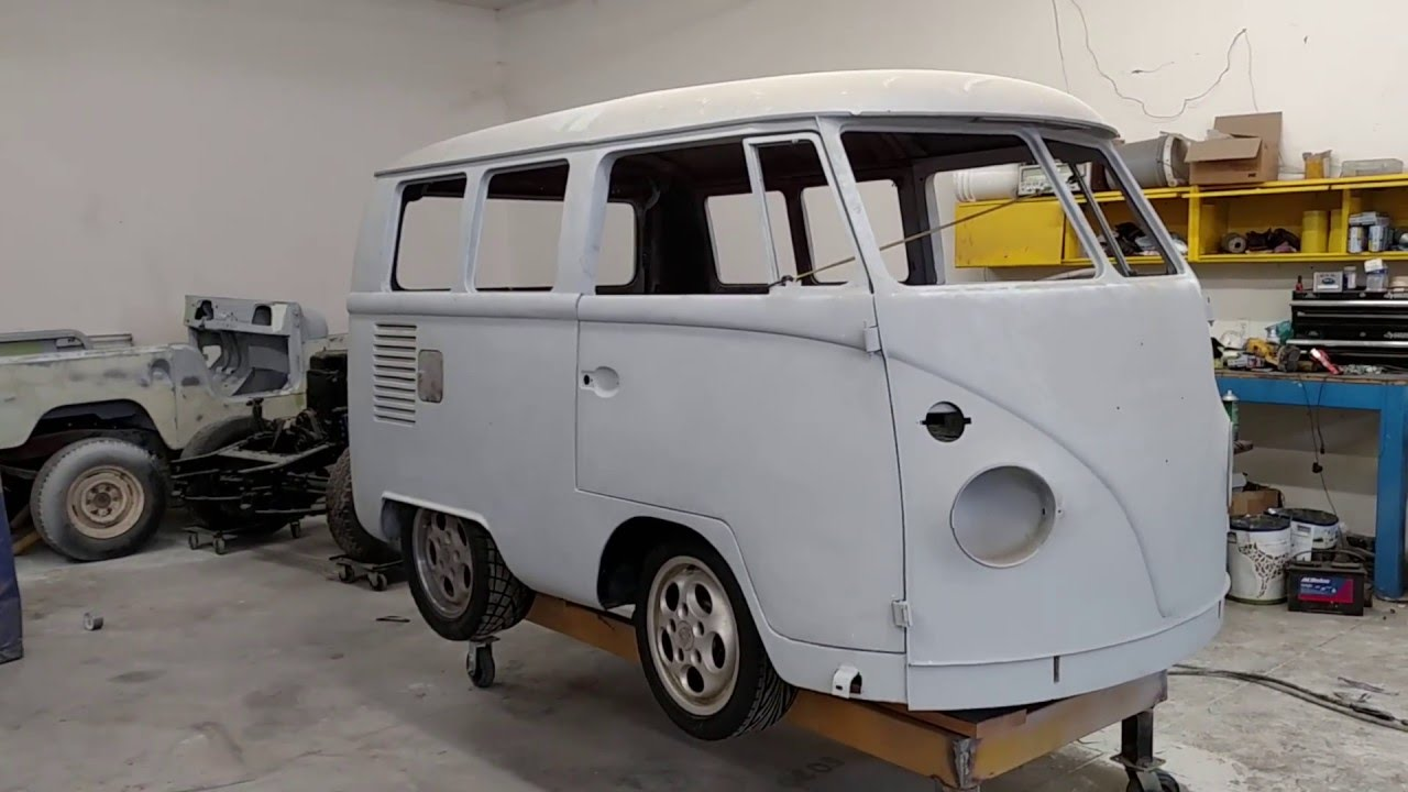 Stripped Nissan LEAF For VW Bus Conversion Has Model S Speed