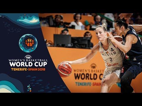 🔴 LIVE - Belgium v France - FIBA Women's Basketball World Cup 2018 (Geo-Rest.)