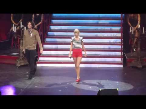 "Taylor Swift "" The Last Time "" in Sacramento California 8/27/2013"