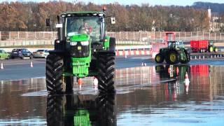 John Deere Fahrsicherheitstrainig auf dem Sachsenring