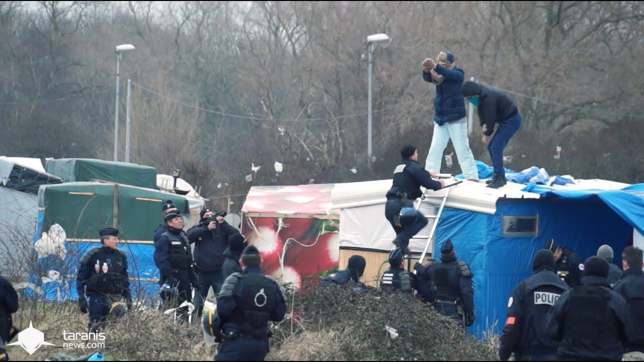SHORTCUT] 1/03/2016 : LA DESTRUCTION DE LA JUNGLE DE CALAIS ...