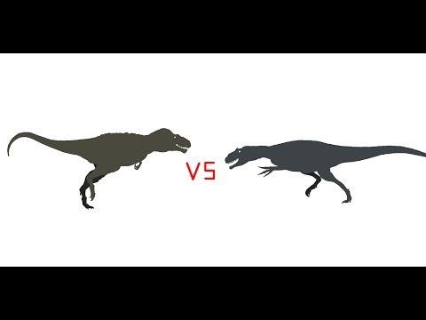 PREHISTORIC BATTLES: Allosaurus vs Daspletosaurus