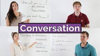 Learn English  Basic English Conversation Course  12 lessons