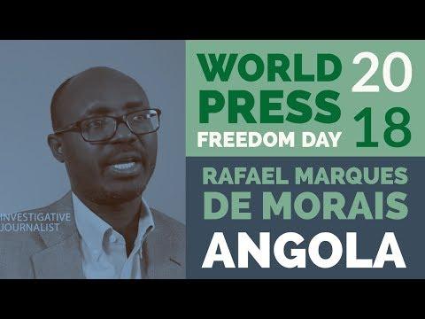 WPFD 2018: Rafael Marques de Morais