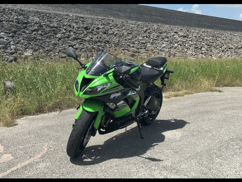 2016 Kawasaki ZX6r Test Ride