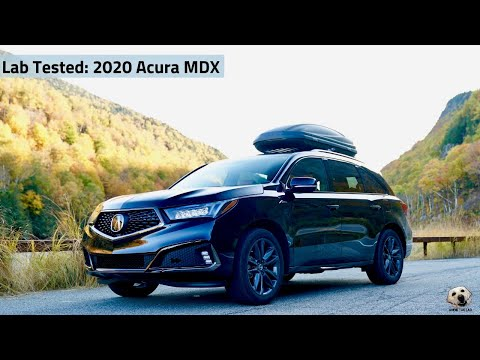 2020 Acura MDX: Andie the Lab Review!