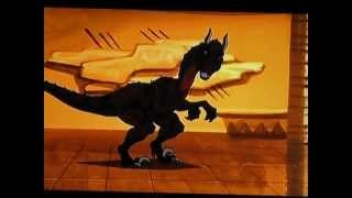 Scooby Doo Legend of the phantosaur: Raptor chase
