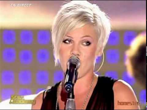 P!nk  Who Knew  Star Academy 2006