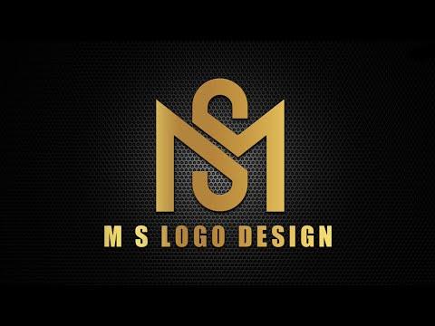 M S Professional Logo Design Pixellab | Pixellab Logo Design 🔥👌