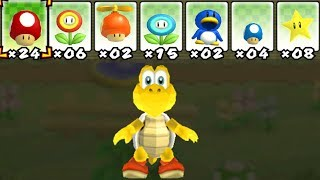 What happens when Koopa uses Mario's Power-Ups?