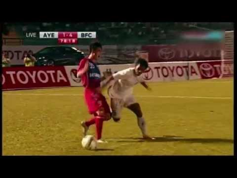 Best Highlights from TMCC 2014: Ayeyawady United FC