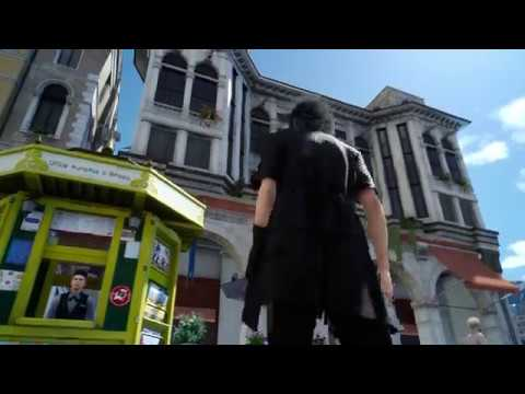 Final Fantasy XV - Altissia, City By The Sea: Immigration Gate, Ignis Helps Noctis & Plans Dialogue
