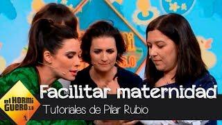Pilar Rubio muestra las innovadoras técnicas para facilitar la maternidad - El Hormiguero 3.0