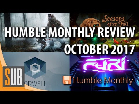 Humble Monthly Review - October 2017