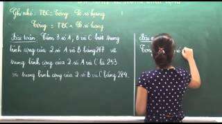 Toán lớp 4 - Bài toán trung bình cộng (Tiết 2) - Cô Phùng Thu Hòa